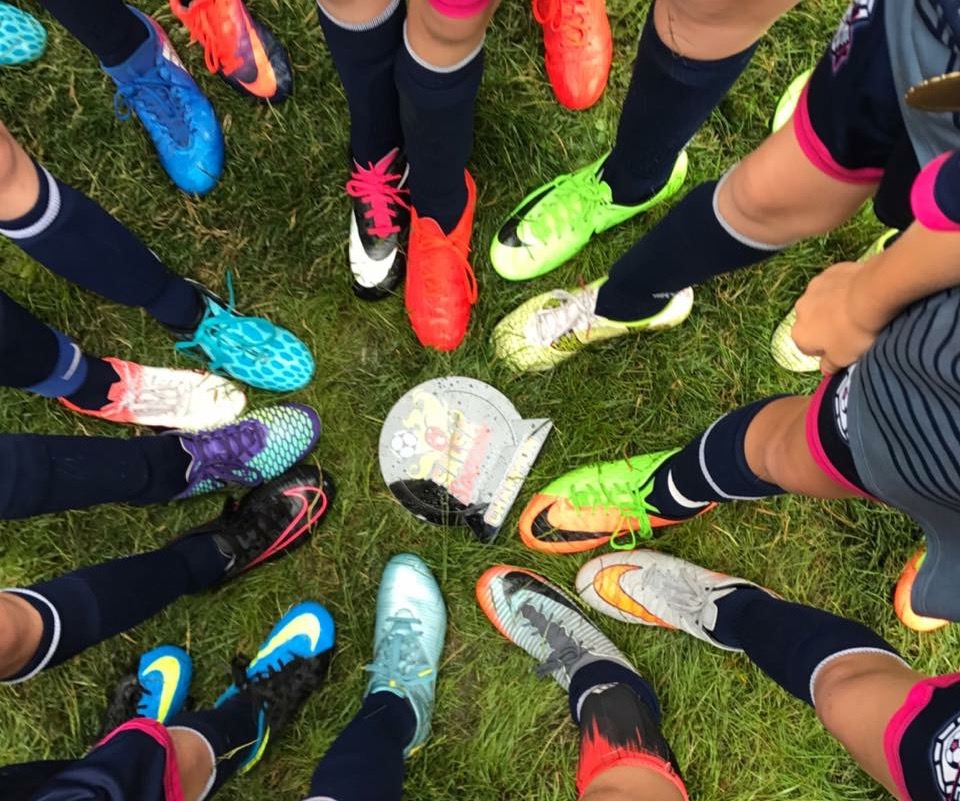 Lady Demize U11 & U12 girls win Salsa soccer tournament